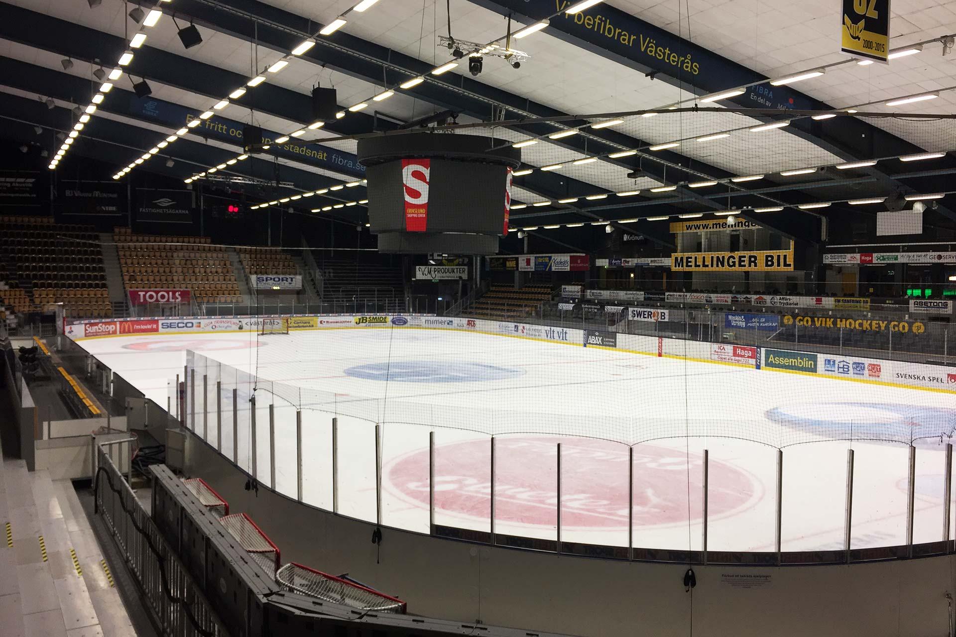 ABB Arena Nord i Västerås. Foto: Pressbild