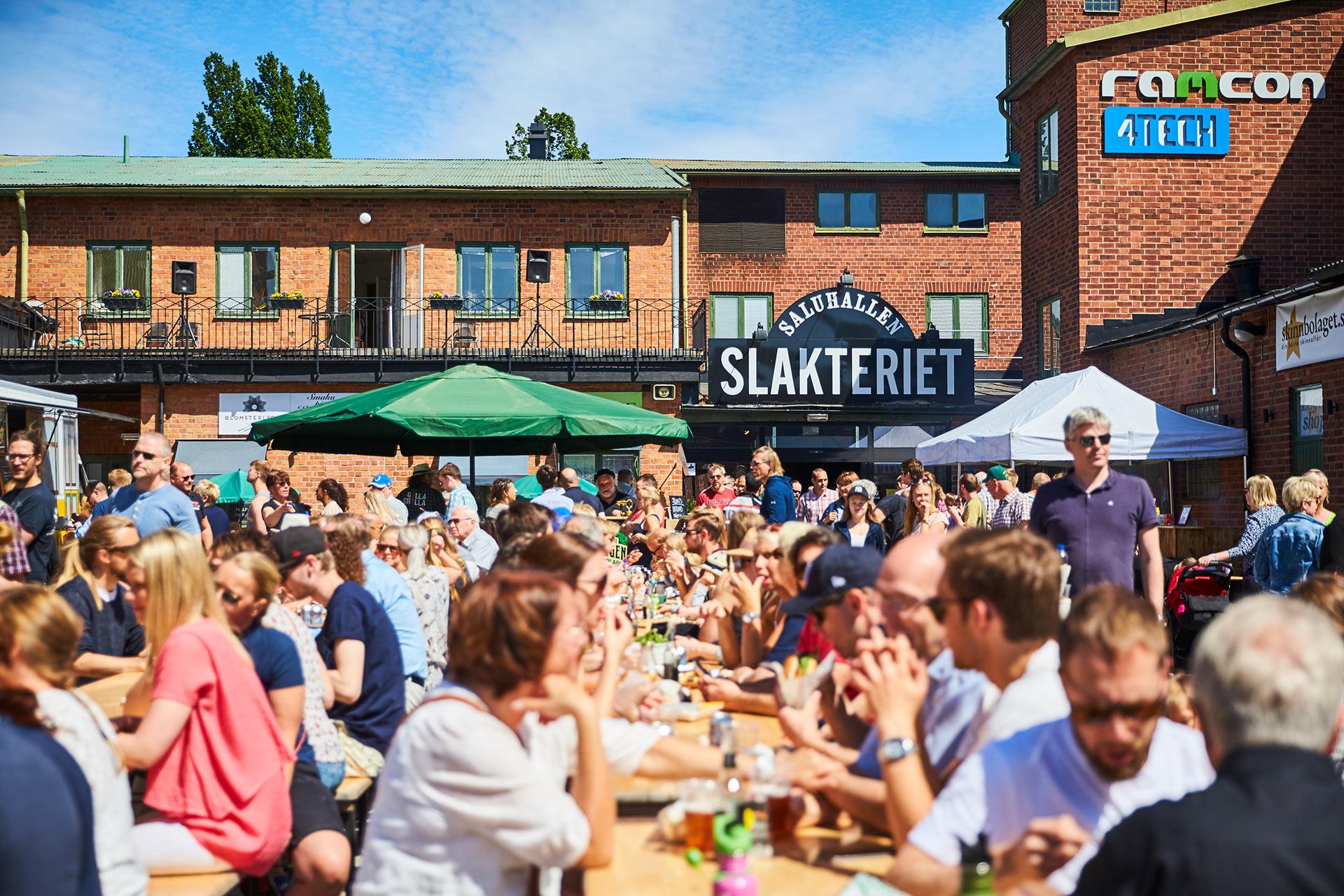 Saluhallen Slakteriet i Västerås. Foto: Pressbild