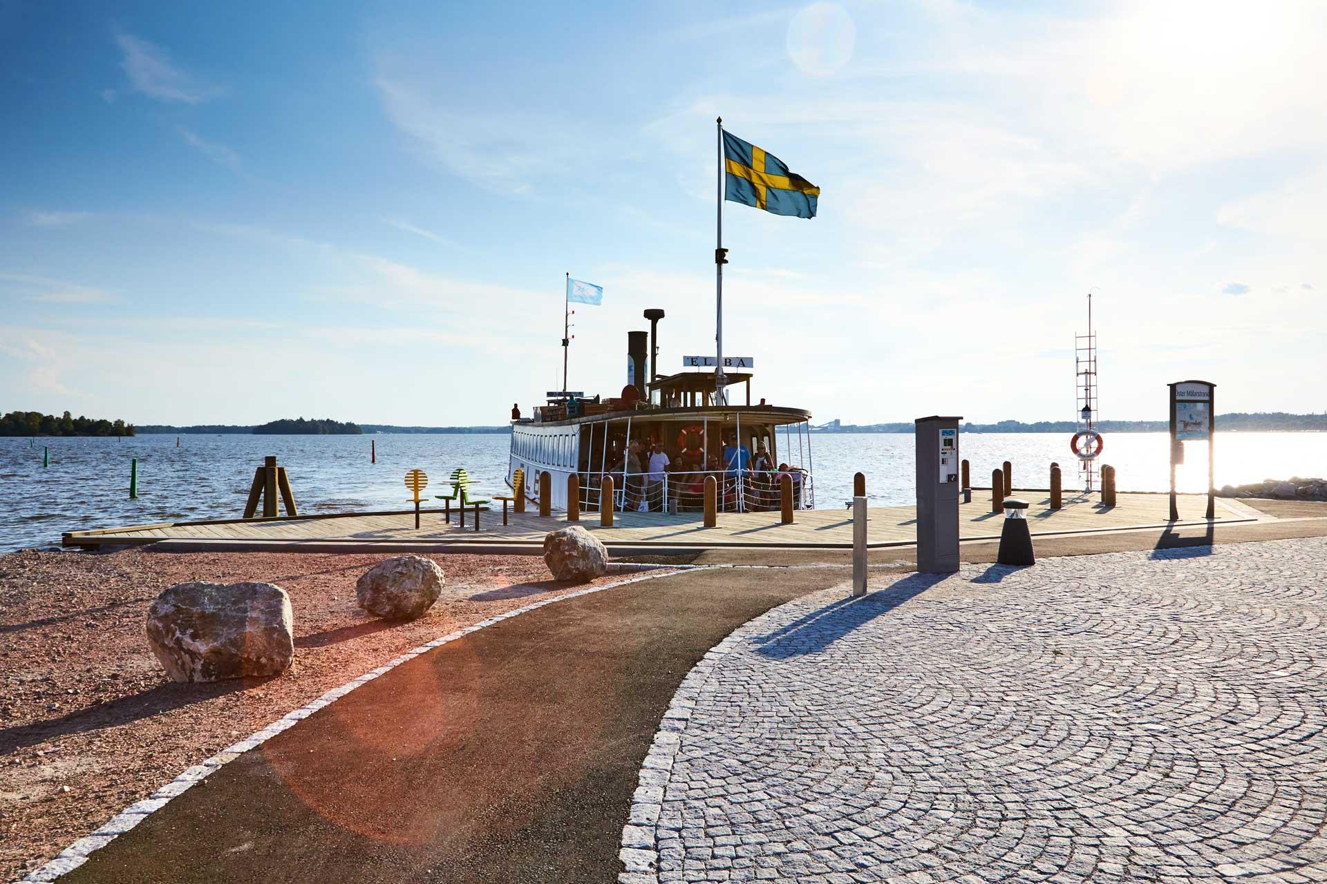 Elbafärjan i Västerås. Foto: BildN