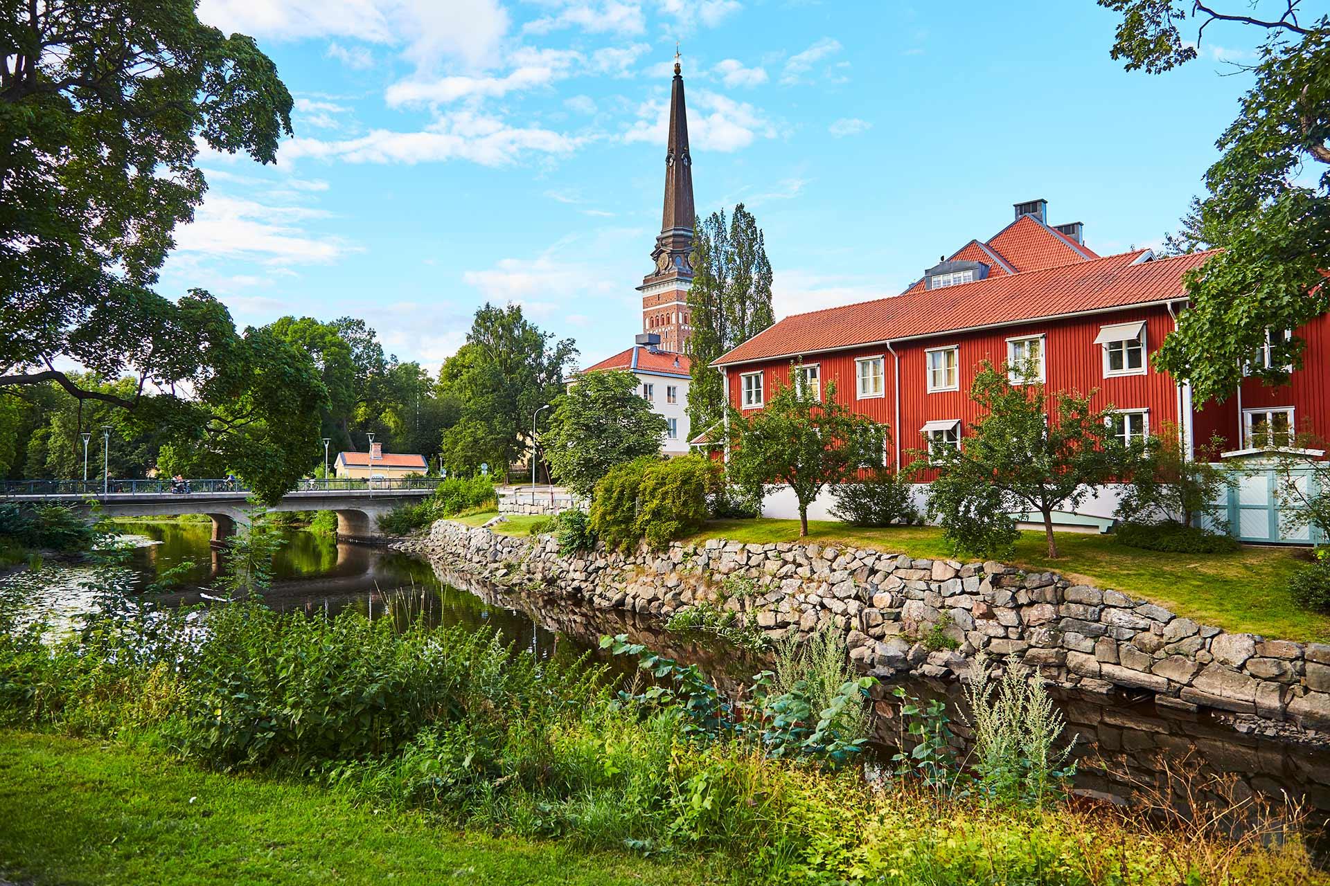 Svartån i Västerås. Fotograf: Pia Nordlander