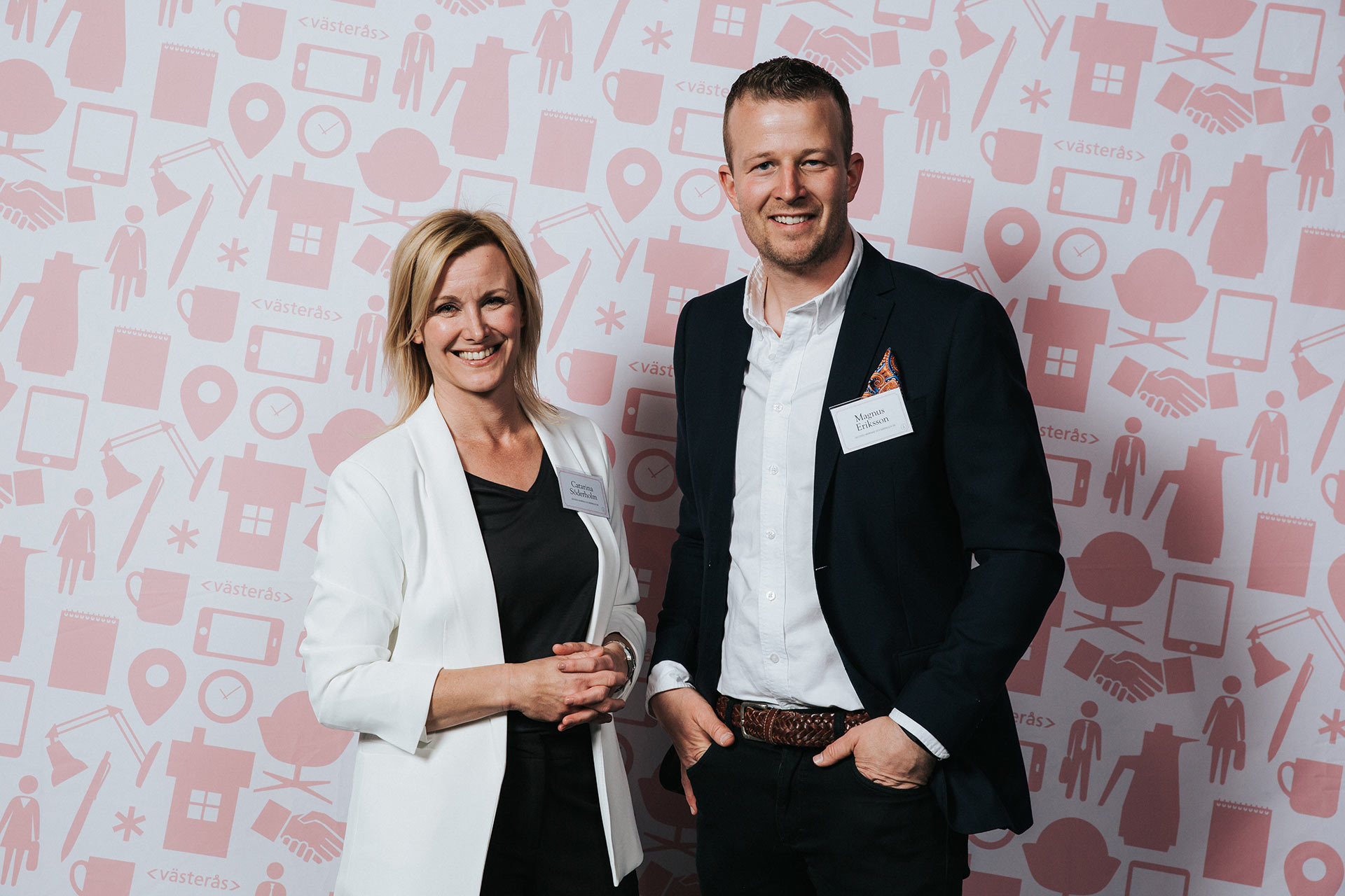Teamet på Västerås Convention Bureau. Fotograf: Henrik Mill