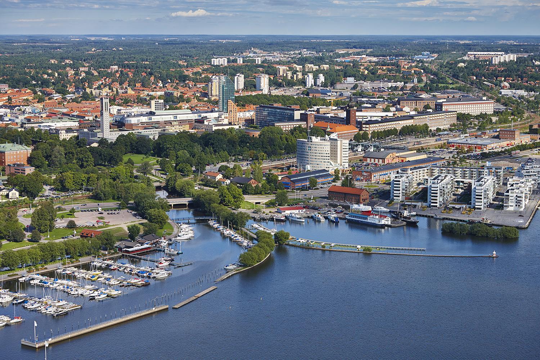 Västerås vy. Fotograf: Pia Nordlander